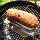Die Bacon Bomb vor dem ersten Anstrich mit der Finishing Glaze