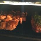 Flat Chickens und Rib-Eye Braten im Smoker
