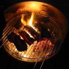 Ein Bild für Götter, das Feuer scheint durch's Fleisch... *hrhr*