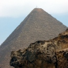 Schwenkgrill auf der Cheops-Pyramide