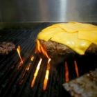 Der Texasburger, von der Flamme geküsst!