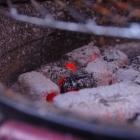 McBrikett BAMBUKO - die Kohle nach gut 2 Stunden