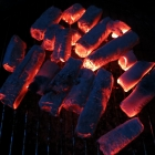 McBrikett BAMBUKO - die Kohle nach gut 2,5 Stunden