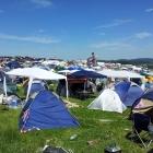 Wir waren nicht alleine campen